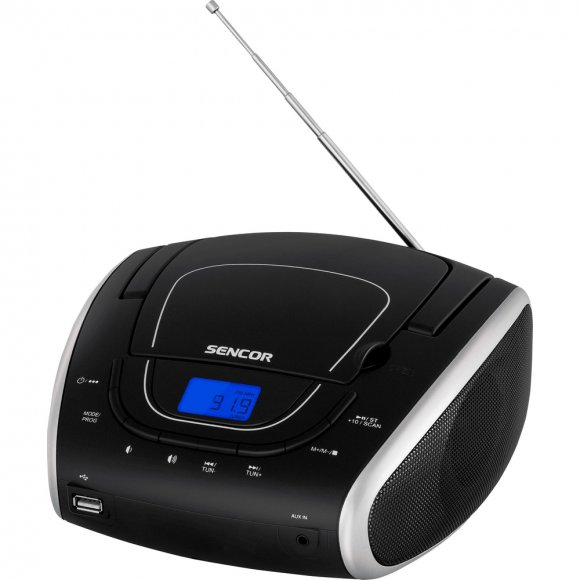 SPT 1600 BS RADIO S CD/MP3/USB SENCOR